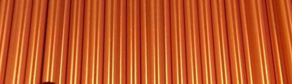 Canudo de Metal laranja Blog